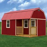 Customize Side Lofted Barn Cabin Supershed Kansas